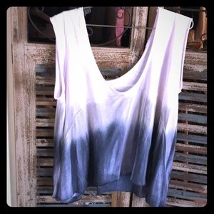 Free People Tops - Ombré Free People top in excellent condition!
